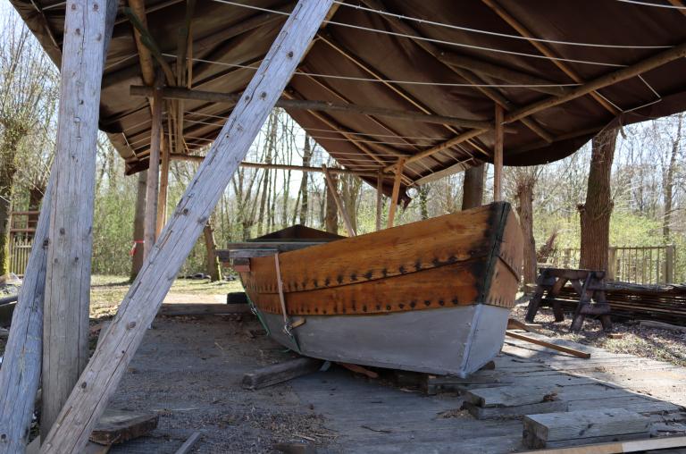 Boot in aanbouw Slot Schaesberg.png